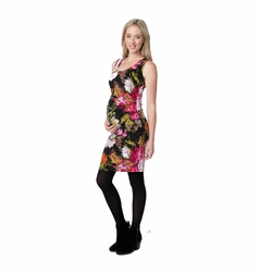Ripe Maternity Floral Splinter Bodycon Tube Dress