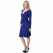Ripe Maternity Gia Long Sleeve Wrap Dress