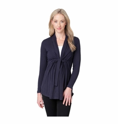 Ripe Maternity Harwood Wool Cardigan Knot Sweater