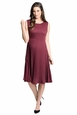 Ripe Maternity Knife Pleat Sleeveless Dress
