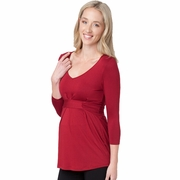 Ripe Maternity Lauren Empire Waist Top