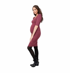 Ripe Maternity Marled Cocoon Bodycon Dress