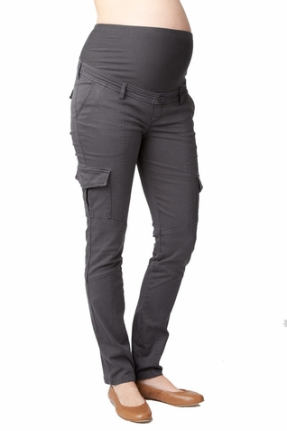 Ripe Maternity Skinny Overbelly Cargo Pant