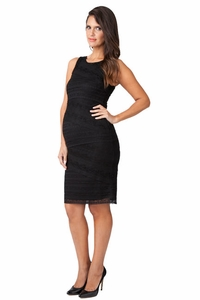 Ripe Maternity Stretch Lace Bandage Cocktail Dress