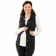 Ripe Maternity Sweater Vest Woodened - FINAL SALE
