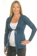 Ripe Soraya Bow Maternity Cardigan Sweater