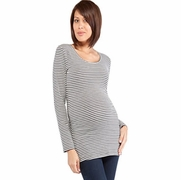 Ripe Striped Maternity Tee