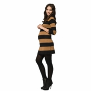 SOLD OUT Ripe Victoria Rugby Striped Maternity Sweater Dress Tunic