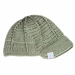 SOLD OUT RuggedButts Gray Handmade Crocheted Beanie