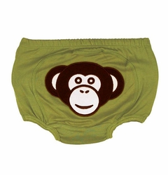 "RuggedButts ""Silly Monkey"" Stretch Knit Bloomer - Diaper Cover"
