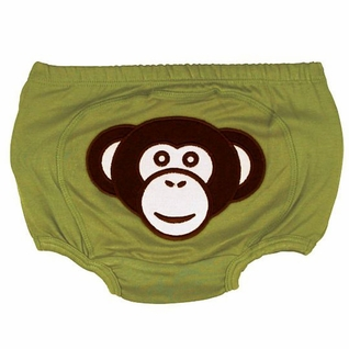 """SOLD OUT RuggedButts """"Silly Monkey"""" Stretch Knit Bloomer - Diaper Cover"""