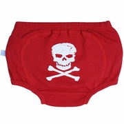 RuggedButts Skull Bloomer-Diaper Cover