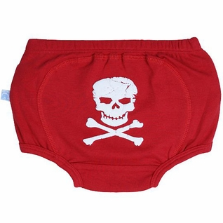 SOLD OUT RuggedButts Skull Bloomer-Diaper Cover