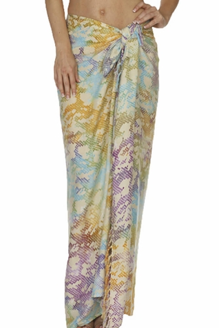 SOLD OUT Santiki Full Sarong - Multicolor Snake