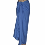 Santiki Full Sarong - Royal Blue