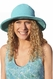 SOLD OUT Santiki Sally Crochet Sun Hat - Turquoise