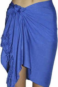 Santiki Short Sarong - Royal Blue