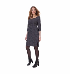Seraphine Adalya Woven Maternity Nursing Dress