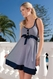 SOLD OUT Seraphine Alana Nautical Stripe Maternity Nursing Dress