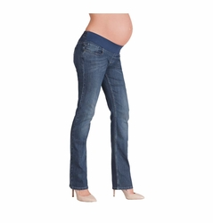 Seraphine Andi Straight Leg Under Bump Maternity Jeans