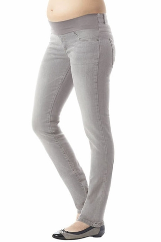 Seraphine Angelina Skinny Luxe Maternity Jeans - Grey