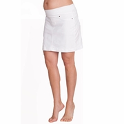 Seraphine Betty Mid Length Denim Maternity Skirt
