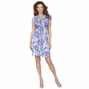 TEMPORARILY SOLD OUT Seraphine Blossom Knot Front Maternity and Nursing Dress