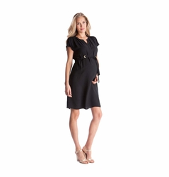 Seraphine Camden Woven Crepe Shift Dress