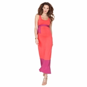 Seraphine Candon Color Block Sleeveless Maternity Maxi Dress