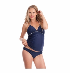 Seraphine Cannes Nautical Maternity Tankini