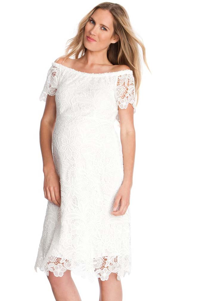 seraphine clementine lace maternity dress maternity clothes