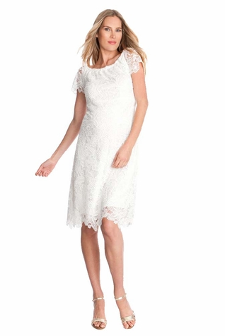 Seraphine Clementine Lace Maternity Dress
