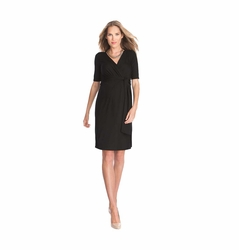 Seraphine Ellie Jersey Wrap Maternity Dress