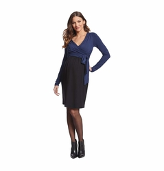 Seraphine Elsa Maternity Nursing Wrap Dress