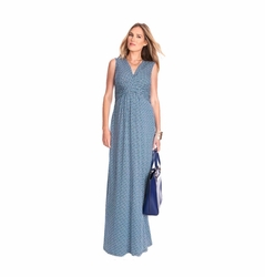 Seraphine Emory Maternity Nursing Maxi Dress