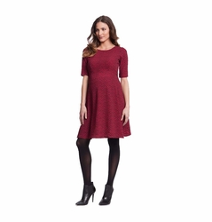 Seraphine Florette Fit And Flare Maternity Dress