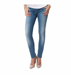 Seraphine Gracie Over Bump Maternity Jeans - Faded Vintage Wash