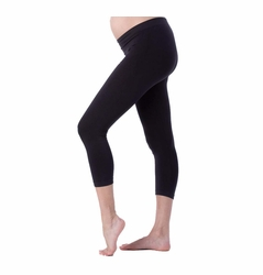 Seraphine Holi Seamless Cropped Maternity Leggings