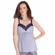 Seraphine Indiana Maternity And Nursing Camisole Pajama Top
