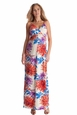 Seraphine Jemima Tropical Floral Braided Maternity Maxi Dress