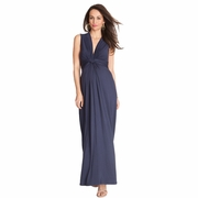 TEMPORARILY SOLD OUT Seraphine Jo Knot Front Maternity And Nursing Maxi Dress