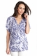 SOLD OUT Seraphine Joy Kimono Sleeve Maternity Tunic Top - Blossom Print