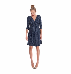 SOLD OUT Seraphine Kelly Faux Wrap Maternity Nursing Dress
