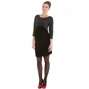 Seraphine Kitty 60s Two Tone Maternity Dress