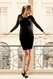 SOLD OUT Seraphine Lacie Polka Dot Mesh Maternity Dress
