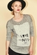 """SOLD OUT Seraphine """"Love No. 1""""  Maternity Graphic Sweater"""