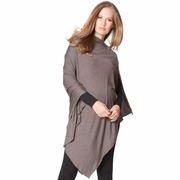 Seraphine Madison Maternity Bamboo Poncho & Nursing Shawl - Winter Weight