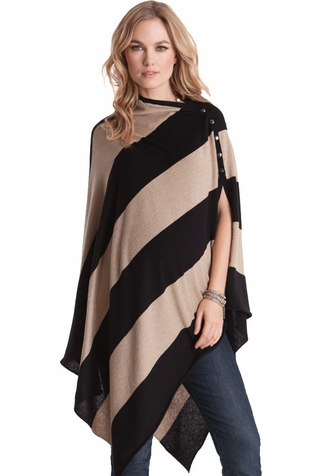 SOLD OUT Seraphine Madison Maternity Poncho & Nursing Shawl - Winter Weight