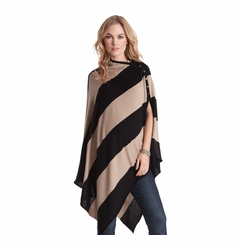 Seraphine Madison Maternity Poncho & Nursing Shawl - Winter Weight