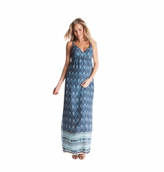 Seraphine Maggie Paisley Print Maternity Maxi Dress